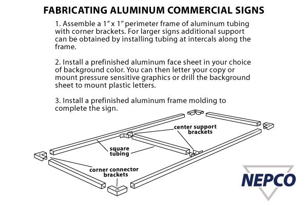 Aluminum Corner Bracket